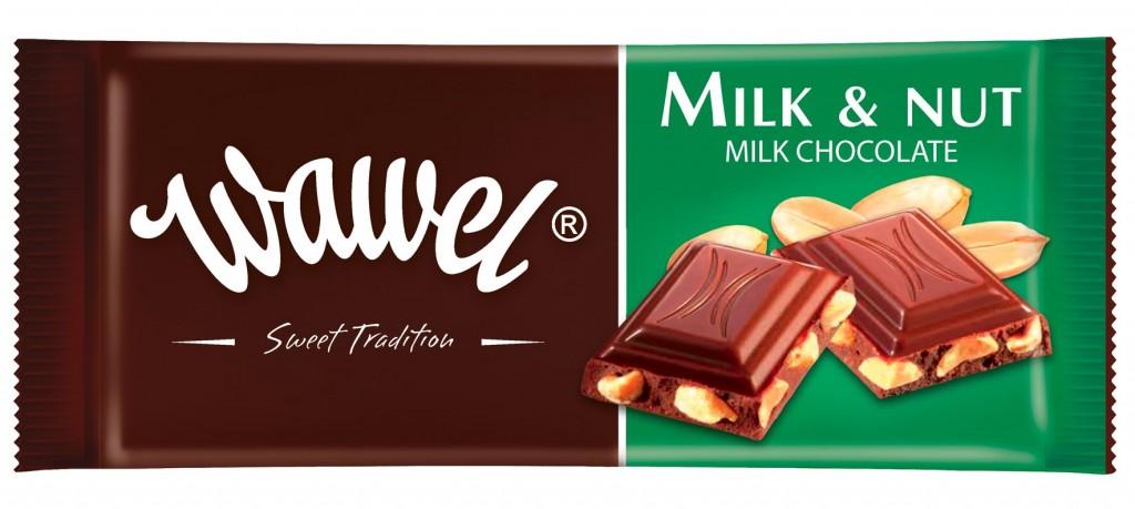 Milk and Nut Chocolate