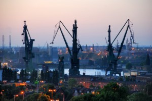 Shipyard Gdansk Poland